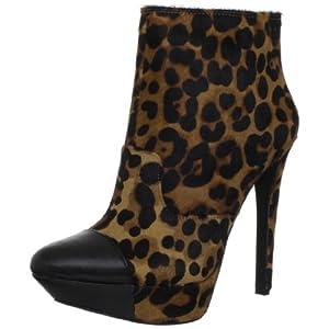 Jessica Simpson Women's Essas2 Ankle Boot,Tan Lima Leopard,7 M US