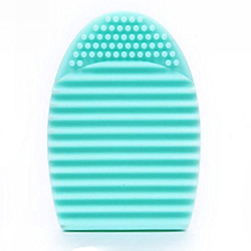familizo-cleaning-tools-makeup-washing-brush-scrubber-board-cosmetic-silicone-egg-clean-tools-green