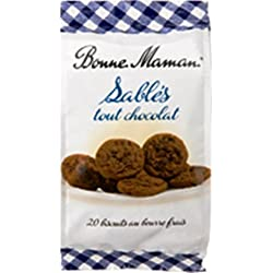 French Chocolate Shortbread Bonne Maman-Sables Tout Chocolat Bonne Maman - 8,82 Oz