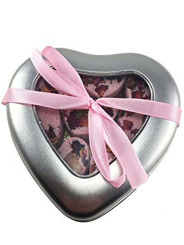 natures-soap-tin-of-love-8-x-20g-bath-truffles-bath-melts-bath-bomb-christmas-gift-set-rose-and-oran