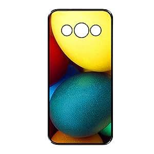 Vibhar printed case back cover for Samsung Galaxy A8 EggsColor