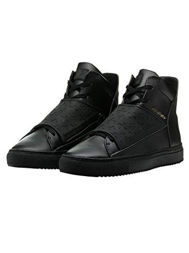 Religion Uomo Relm similpelle & Neoprene Boots, Nero, 44