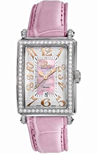 Gevril Women's 6208RL Glamour Automatic Pink Diamond Watch by Gevril