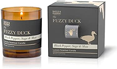Baylis & Harding Fuzzy Duck Wick Candle, Black Pepper/Sage/Moss - 1-Piece Gift Set