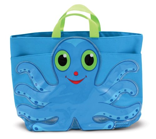 Melissa &#038; Doug Sunny Patch Flex Octopus Beach Tote Bag