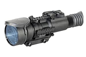 Armasight Nemesis 4X GEN 2+ QS Quick Silver White Phosphor Night Vision Rifle Scope,... by Armasight