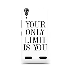 Ebby Your Limit is YOU Premium Printed Case For Lenovo A6000