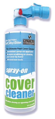 Natural Chemistry 00177 32 oz. Spary-On Pool Cover Cleaner Quart