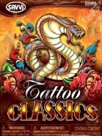 Savvi Tattoo Classics! - 30 Tattoos per Package!
