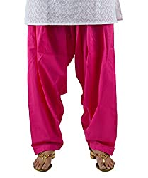 Neha Fashion Women's Regular Patiala Pant ( Pink )