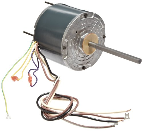"""Fasco D748 5.6"""" Frame Open Ventilated Permanent Split Capacitor Condenser Fan Motor With Sleeve Bearing, 1/3Hp, 1075Rpm, 208-230V, 60Hz, 2.9 Amps"""