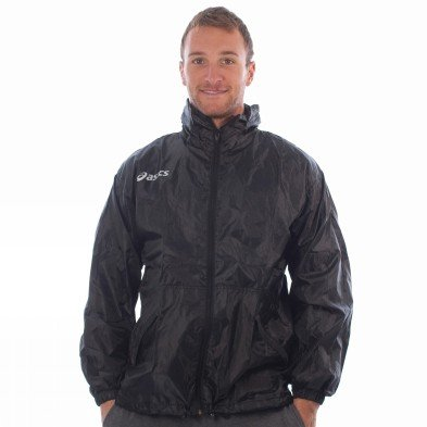 Asics Windbreaker Mens Jacket Time Black