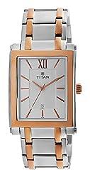Titan Regalia Analog Silver Dial Mens Watch - NE9327KM01A