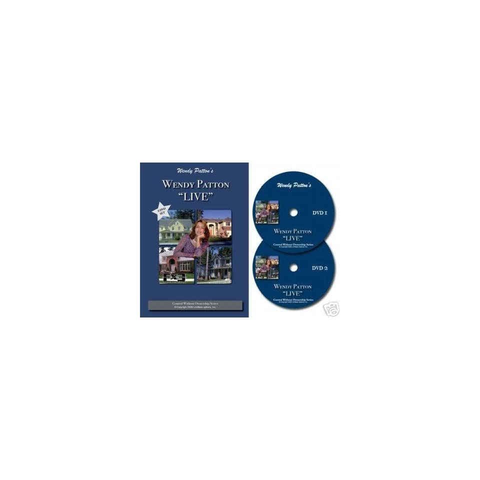Wendy Patton 2pk DVD Lease Options and Subject Tos