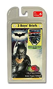 Fruit Of The Loom Boys 2-7 Fruit Of The Loom Boys Batman Briefs Prints