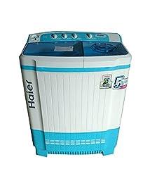 Haier XPB82-187S Semi-automatic Top-loading Washing Machine (8.2 Kg, Aqua Blue)