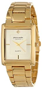 Pierre Cardin Men's PC900931001 Classic Analog Diamond Accents Watch