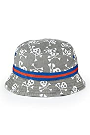Pure Cotton Skull Print Pull On Hat