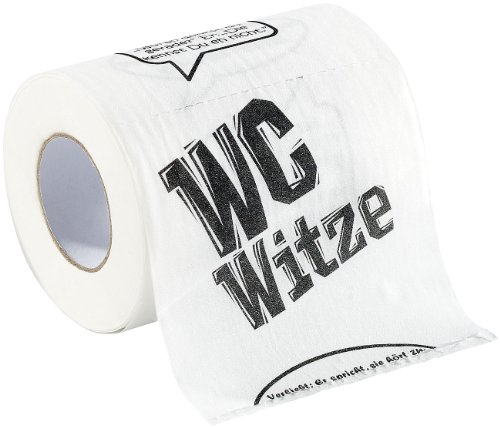 """infactory Toilettenpapier """"Witze"""", 1 Rolle"""
