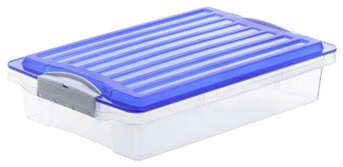 Rotho 7766 - Contenitore compatto piatto, formato A4