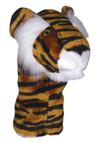 Search 'N Rescue Tiger Golf Club Head Cover, Black/Orange front-969170