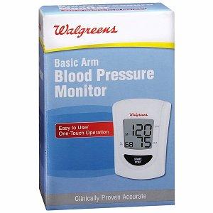 Cheap Walgreens Basic Arm Blood Pressure Monitor, 1 ea (B0081U7UIQ)