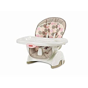 Fisher-Price Space Saver High Chair - Pink Circles