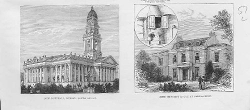 Municipio Durban S Africa, la Camera Earls Court dei Cacciatori
