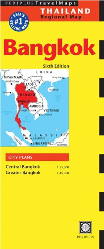Bangkok Travel Map Sixth Edition (Periplus Maps)