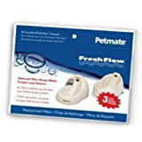 Petmate Fresh Flow Filter Replacement 3 Pack Fits Jumbo and Medium Fresh Flow ~ Petmate