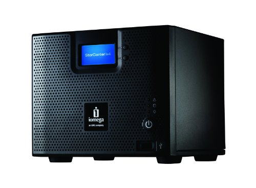 Iomega StorCenter ix4-200d 8TB (4 x 2TB) Network Storage Cloud Edition - 35439