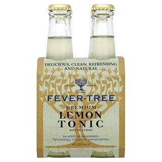 Fever Tree Bitter Lemon 4 x 200ML