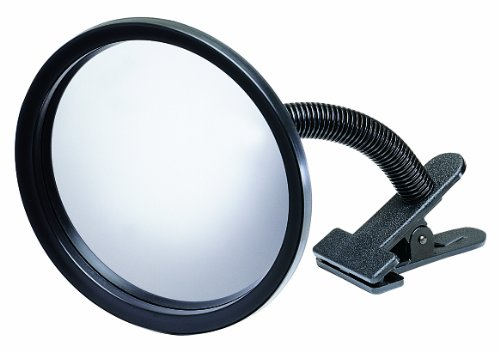 "See All Icu7 Personal Safety And Security Clip-On Convex Security Mirror, 7"" Diameter (Pack Of 1) front-53068"