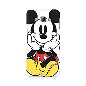 Mobicture Colorful Mickey Premium Printed Case For Samsung A8