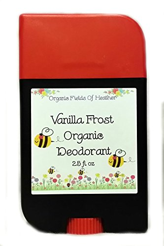 Organic Deodorant - Vanilla Cocoa Scent - 100% Certified Organic Non-Gmo Ingredients - **New & Improved!** For Women - Men - Kids - Will Not Dry Out Your Skin Or Leave A Long Lasting Oily Residue - Will Naturally Heal Your Damaged Skin - Terrific For Ever back-710289