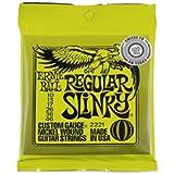 Lot de 3 jeux de cordes de guitare Ernie Ball Slinky 010 - 046