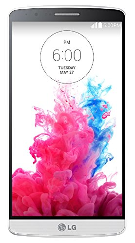 LG G3 D855 32GB LTE Unlocked GSM Android Smartphone - Silk White - International Version No Warranty