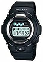 Casio Baby G Jelly Black Resin Ladies Watch BG1001-1V