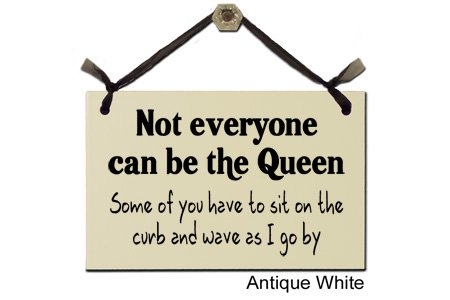 Not Everyone Can Be The Queen - Decorative Sign 154W leigh williamson swift in the cloud