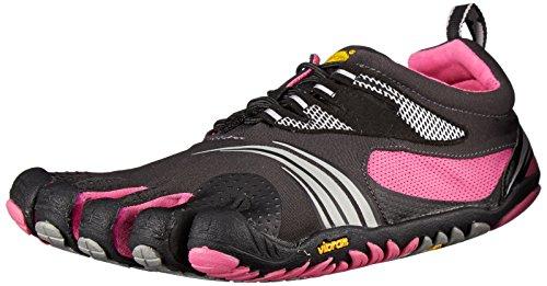 Vibram Fivefingers - Kmd Sport Ls, scarpe da arrampicata  da donna, nero(black (grey/black/pink)), 37