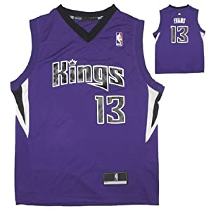 NBA SACRAMENTO KINGS EVANS #13 Youth Athletic Comfortable Fit Sleeveless Jersey by NBA