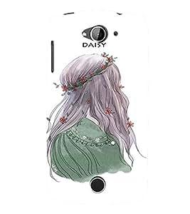 EPICCASE Daisy Mobile Back Case Cover For Acer Liquid Z530 (Designer Case)