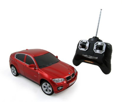 BMW X6 Radio Remote Control 1/24 RC Sports Car, Assorted Colors (Bmw X5 For Kids compare prices)