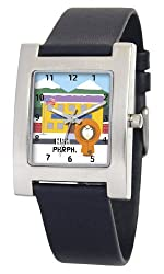 South Park Men's D1517S060 Kuban Collection Kenny Black Leather Watch
