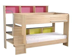 Kids Avenue Bunk Bed, 245 x 171 x 114 cm, Brown