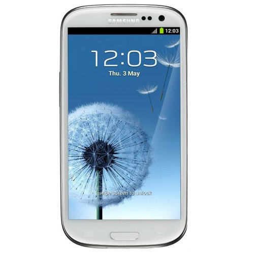 Link to Samsung G-SAM-I9300-32GB-WHT Galaxy S III 4G Unlocked Phone with 8MP Camera, 4.8-Inch Touchscreen, 32GB Memory, Android 4.0 and GPS – No Warranty – Marble White On Sale