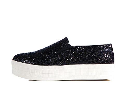 Steve Madden Buhba Slip On Black Sneaker Glitter - Scarpa Senza Lacci Con Paillettes