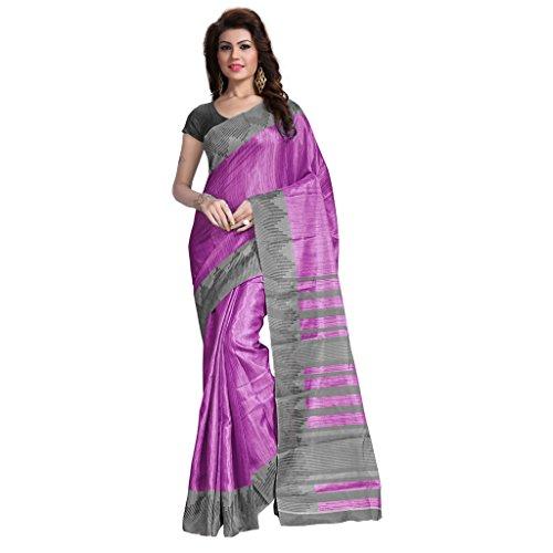 kavvya fashion pink pure silk printed designer saree. Black Bedroom Furniture Sets. Home Design Ideas