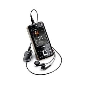 Smartphone 3G : Nokia N81 8 GB Unlocked Smartphone with 2 MP Camera