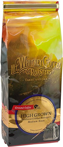 Mt. Whitney Coffee Roasters: 12 Oz, High Grown Cristian Rodriguez, Single Origin, Medium Roast, Whole Bean Coffee